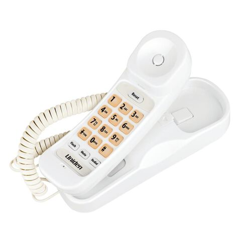 Uniden Sse30 Corded Phone White