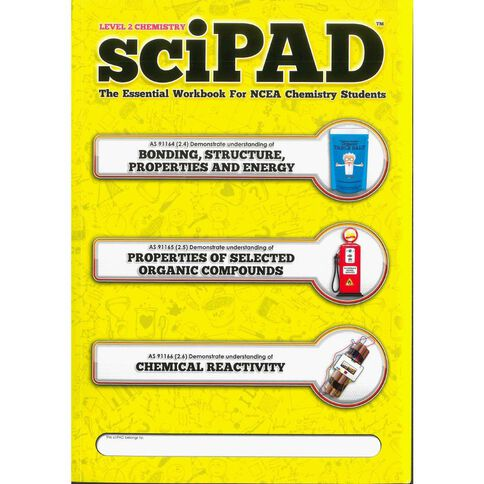 Ncea Year 12 Scipad Chemistry