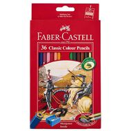 Faber-Castell Classic Colour Pencils 36 Pack