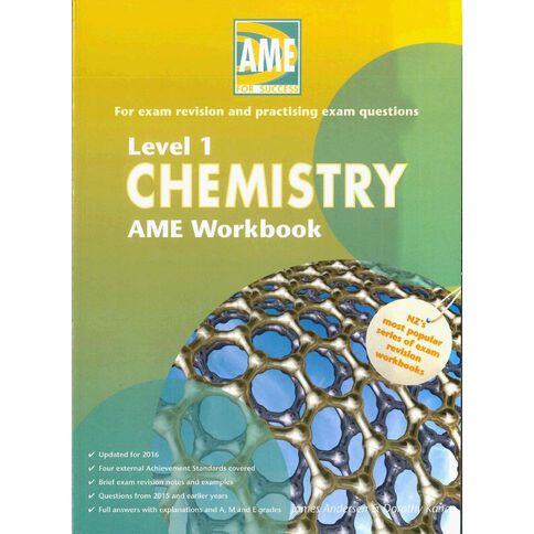 Ncea Year 11 Chemistry Workbook