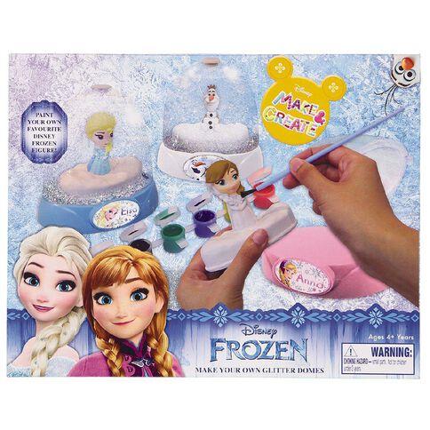 Frozen Glitter Dome