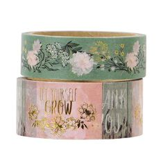 Uniti Secret Garden Washi Tape 2 pack
