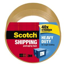 Scotch Packaging Tape Heavy Duty 48mm x 50m Tan