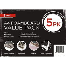 Jasart Foamboard 5mm A4 5 pack