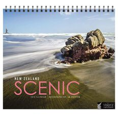 John Sands 2020 Desk Front Page Calendars New Zealand Scenic