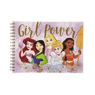 Disney Princess Sketchpad Girl Power Purple A4