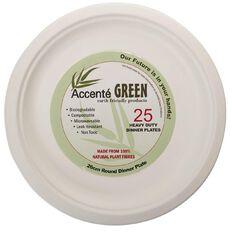 SURV. Biodegradable Dinner Plates 26cm 25 Pack