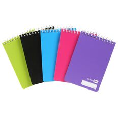 ColourHide Notepad 112 x 77mm 96 Page 5 Pack Assorted