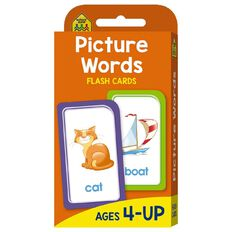Hinkler School Zone Picture Words Flash Cards