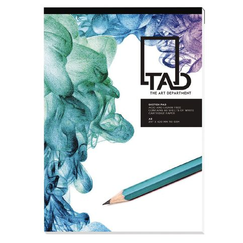 The Art Department Sketch Pad 110gsm A3