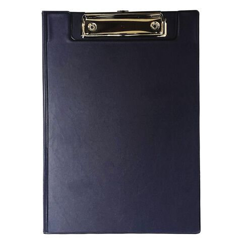 GBP Stationery Double Clipboard Navy A5