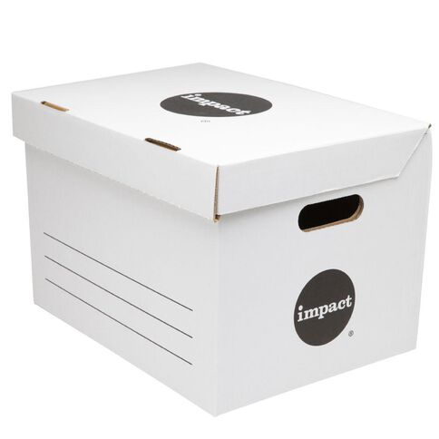 Impact Archive Box White