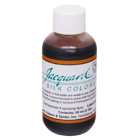 Jacquard Silk Green Label Dye 59.15ml Brown Sienna