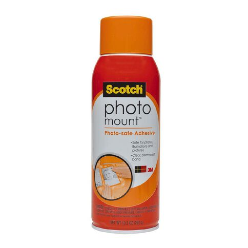 Scotch Photo Mount Adhesive Spray