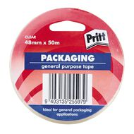 Pritt Packaging Tape Clear 48mm x 50m Clear