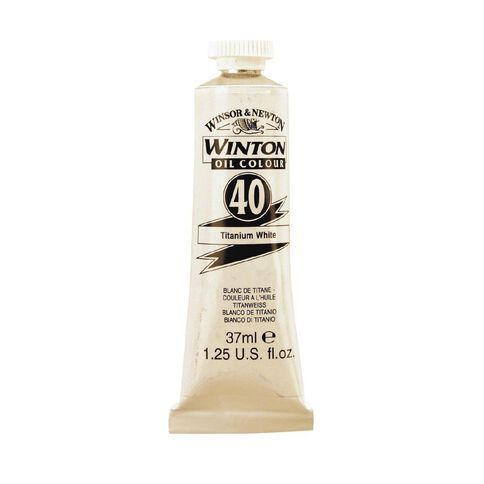 Winsor & Newton Winton Oil Paint 37ml Burnt Sienna Brown