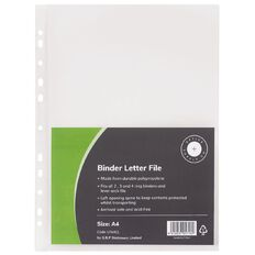 Office Supply Co Binder Letter File Clear A4