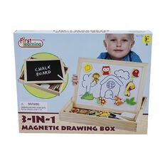 First Learning 3-in-1 Magnetic Drawing Box Assorted
