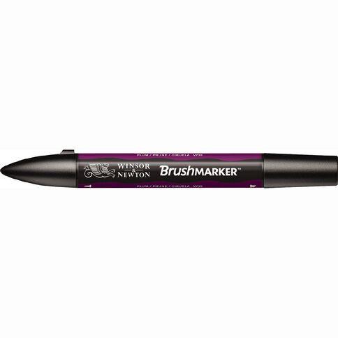 Winsor & Newton Brushmarker Single Plum
