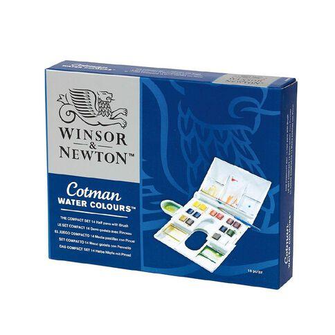 Winsor & Newton Cotman Watercolour Compact Set 14