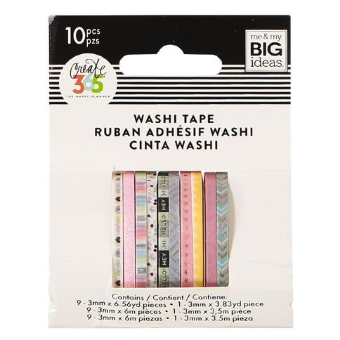 Me & My Big Ideas Washi Tape Mini Pastels