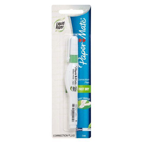 Paper Mate Correction Pen Liquid Paper 7ml White
