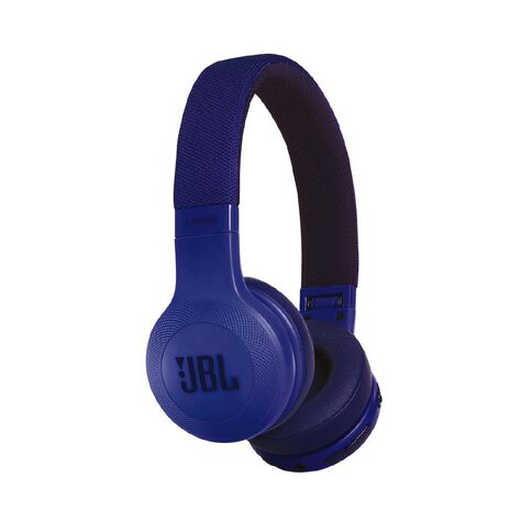 JBL E45 On-Ear Bluetooth Headphones Blue