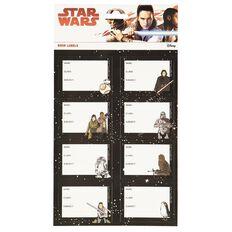 Star Wars Book Labels