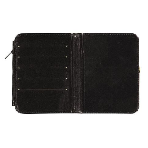 Uniti Passport Holder Black/Gold