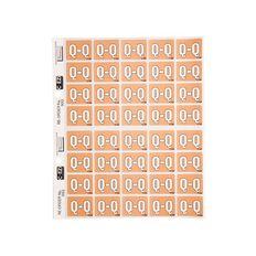 Filecorp Coloured Labels Q