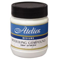Atelier Medium Modelling Compound 250ml White