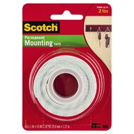 Scotch 114/DC Heavy Duty Mounting Tape 25mm x 1.27m.