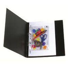Marbig Bindermate Pencil Case Clear A5