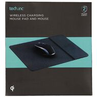 Tech.Inc Wireless Charging Mouse Pad and Mouse