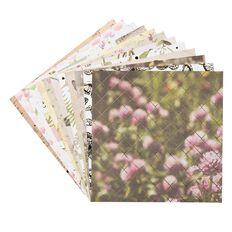 Uniti Wild Bloom Designer Paper Pad 12in x 12in