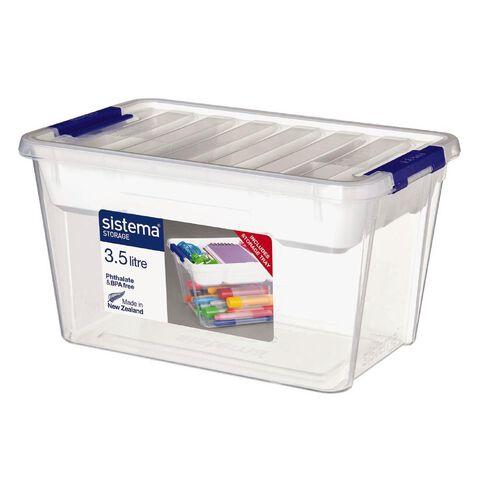 Sistema Storage Organiser 3.5L Clear