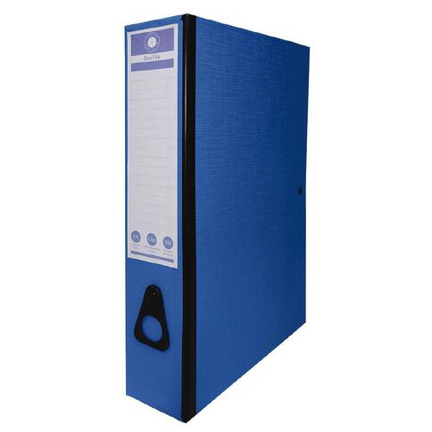 Office Supply Co F/C Box Files Blue