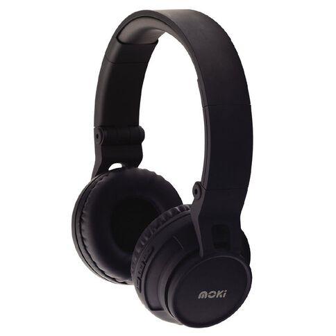 Moki Bluetooth Wireless Headphones Black
