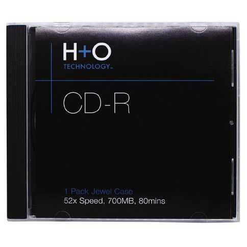 H+O Cd-R 52X 700 Mb 1-Jewel Case