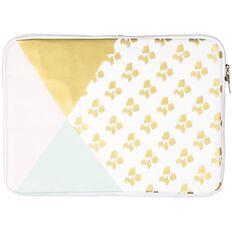 14 inch Notebook Sleeve Pastel Geo Leopard