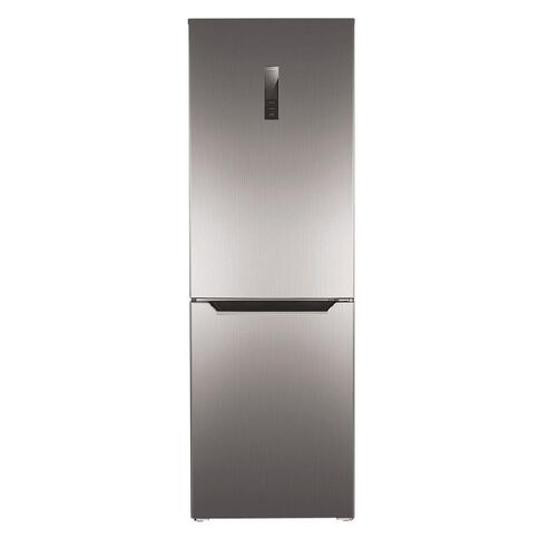 Akai Bottom Mount Fridge/Freezer 357 Litre Silver
