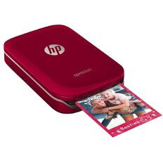 HP Sprocket Photo Printer Red