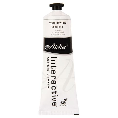Atelier S1 80ml Titanium White