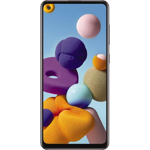 2degrees Samsung Galaxy A21s 32GB Black