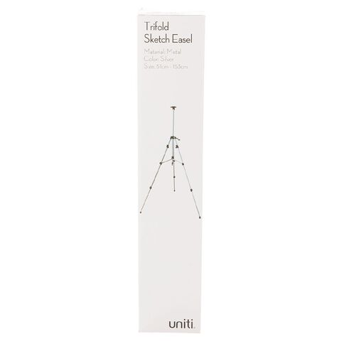 Uniti Trifold Sketch Easel Silver