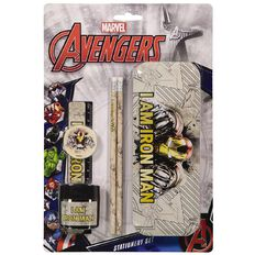 Disney Avengers Stationery Set 6 Pieces