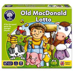 Orchard Toys Game Old Macdonald Lotto