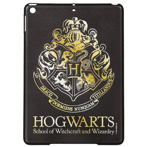 Harry Potter iPad 9.7 inch Hogwarts Case Black