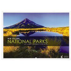 John Sands 2021 Calendar New Zealand National Parks 210mm x 297mm
