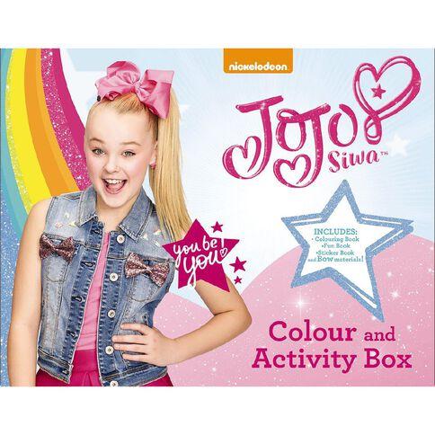 JoJo Siwa Colour & Activity Box